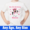 Sprinklecart Ideal 5th Birthday Tee Gift Cowgirl Themed Birthday Dress for Your Little Angel