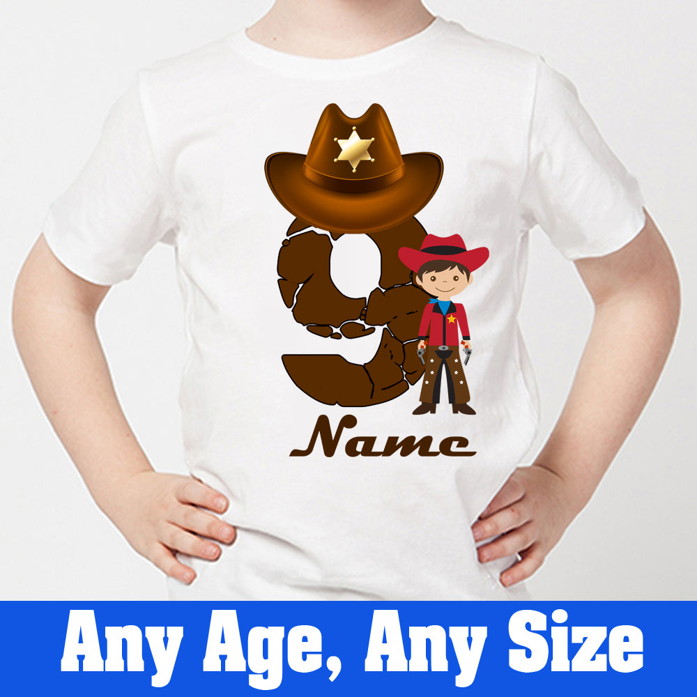 Sprinklecart Kids Ideal Pirate Birthday Wear | Custom Name and Age Printed 9th Birthday T Shirt for Boys