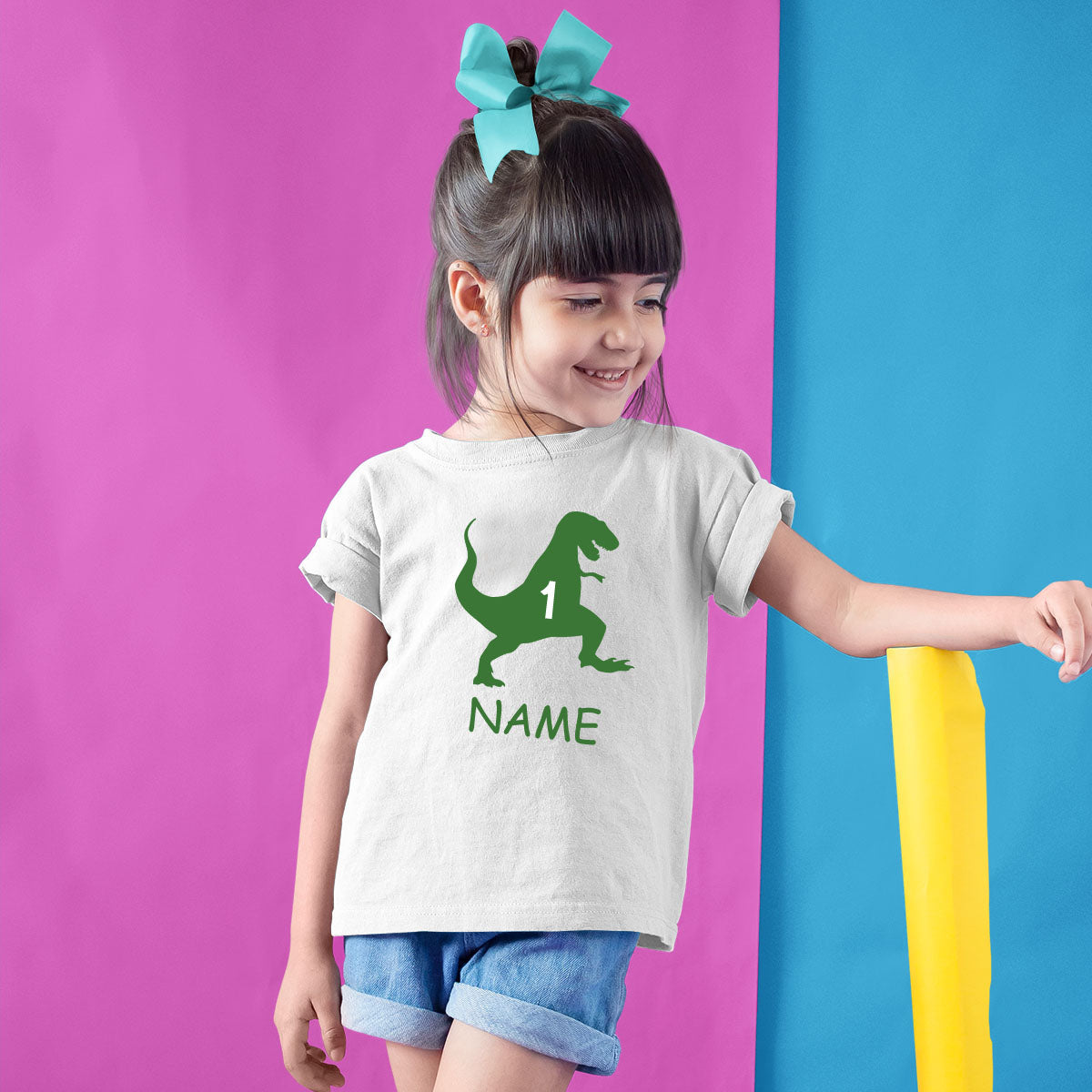Sprinklecart Make Your Birthday Party Unique with Dinosaur Birthday T Shirt 1st Birthday Dress
