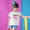 Sprinklecart Simple and Cute Birthday T Shirt for Girls | Make Your Kid's Birthday Ideal with Personalized Birthday Wear