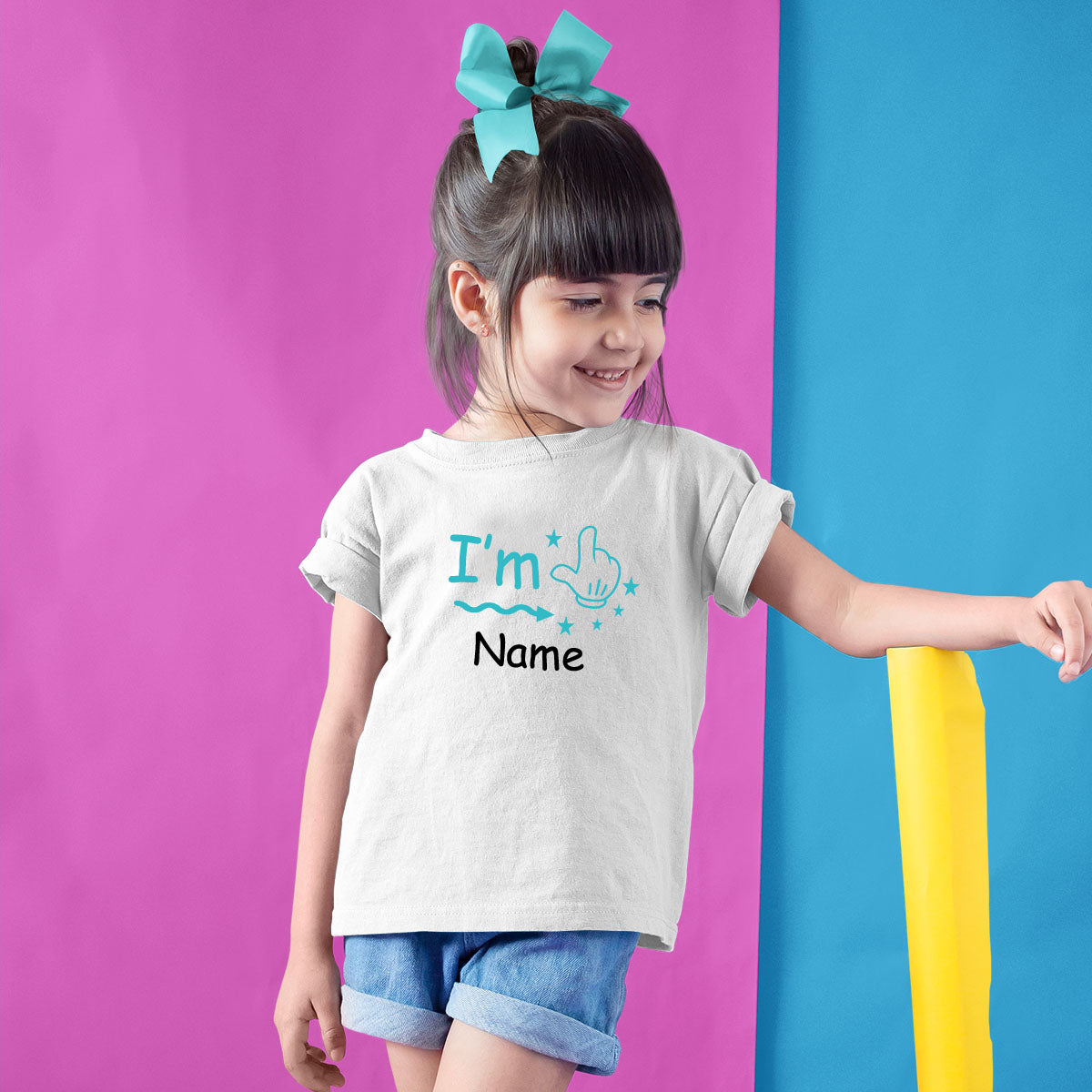 Sprinklecart Customized I'm One Birthday T Shirt | Personalized Name and Age Printed Birthday Dress