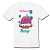 Sprinklecart Cute Monster Birthday T Shirt | Custom Name Printed Birthday Dress