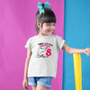 Sprinklecart Cute Dolphin 8th Birthday T Shirt | Personalized Name and Age Printed Birthday Wear