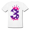 Sprinklecart Lovely 3rd Birthday T Shirt | Customized Birthday Wear