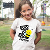 Sprinklecart Black and White Polka Dotted Lovely Honey Bee T Shirt | Customized 1st Birthday Dress