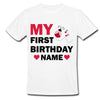 Sprinklecart My First Birthday Printed Little Bug Birthday T Shirt | Customized 1st Birthday Dress