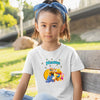 Sprinklecart Jungle Theme Printed Birthday Tee | Best Birthday Dress for Your Super Hero
