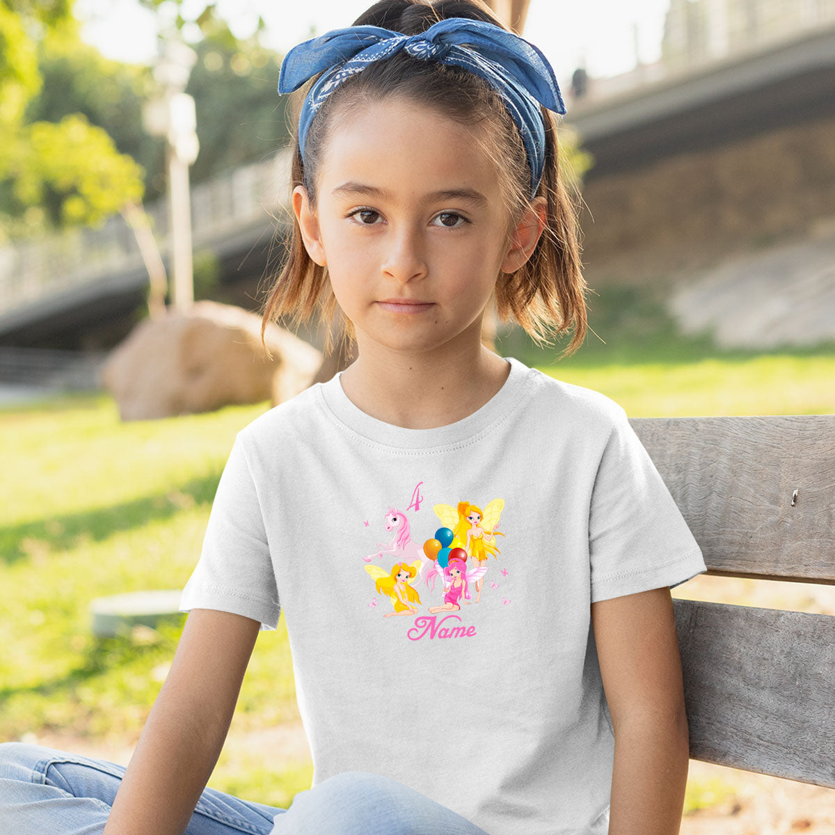 Sprinklecart Colourful Design Printed Birthday Tee | Suitable Birthday Dress for Your Little Queen