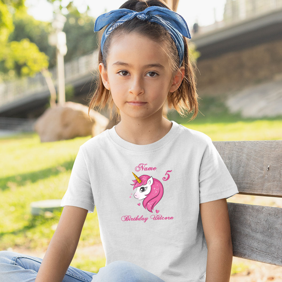 Sprinklecart Beautiful Unicorn Design Printed Birthday Tee Birthday Dress for Your Little Star