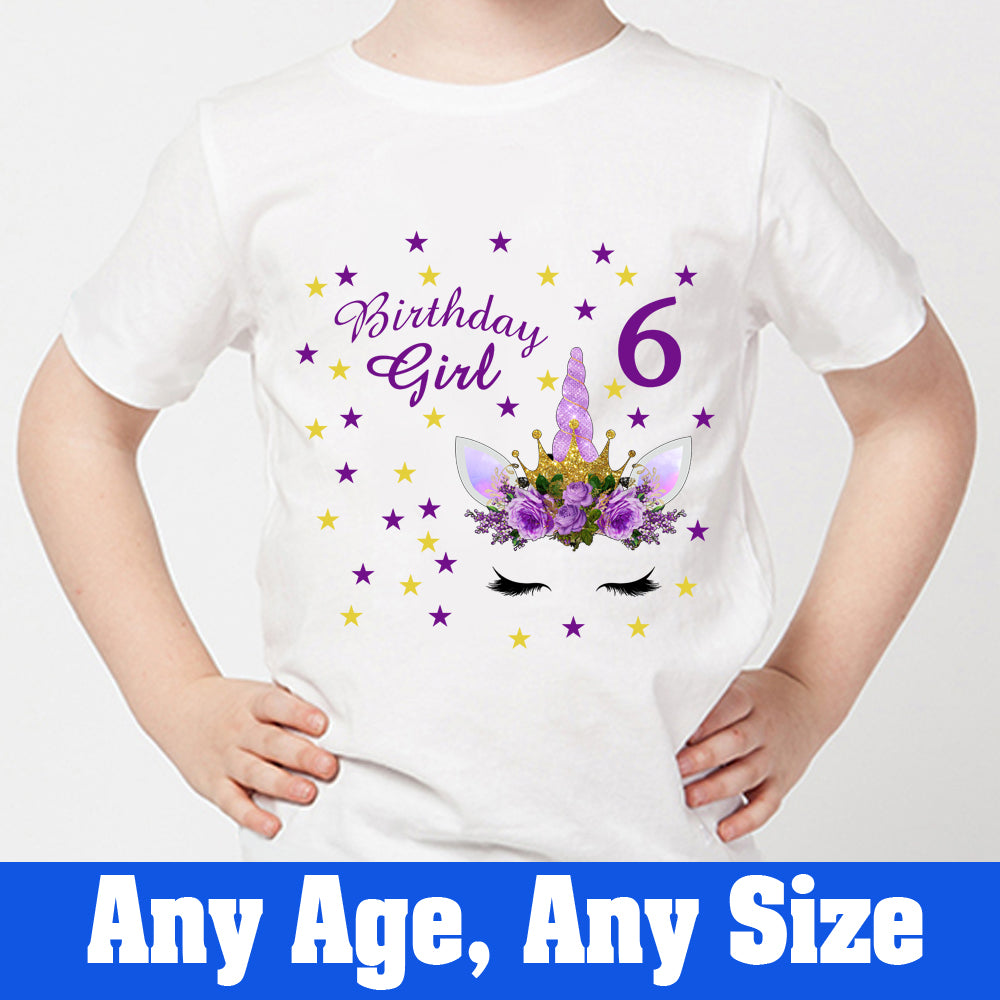 Sprinklecart Ideal Birthday Dress for Your Little Queen | Customized Name Printed Unique Birthday Tee