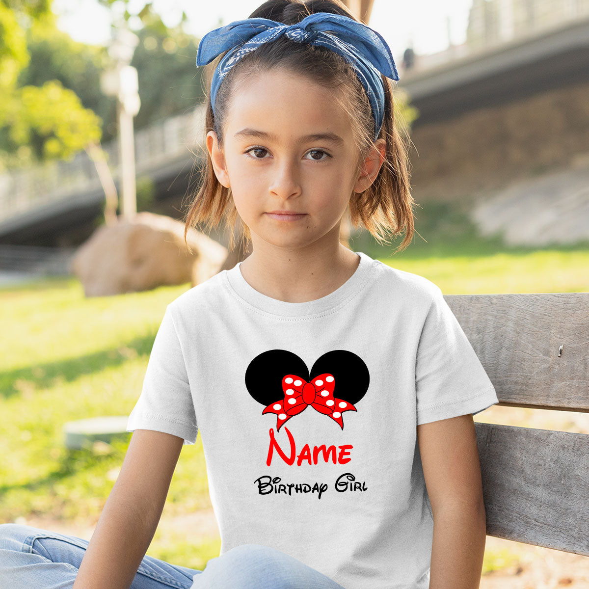 Sprinklecart Little Princess Design Printed Birthday Gift | Personalized Birthday Wear Tee for Your Loved One