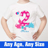 Sprinklecart Ideal 2nd Birthday T-Shirt | Customized Design Printed Special Birthday Wear