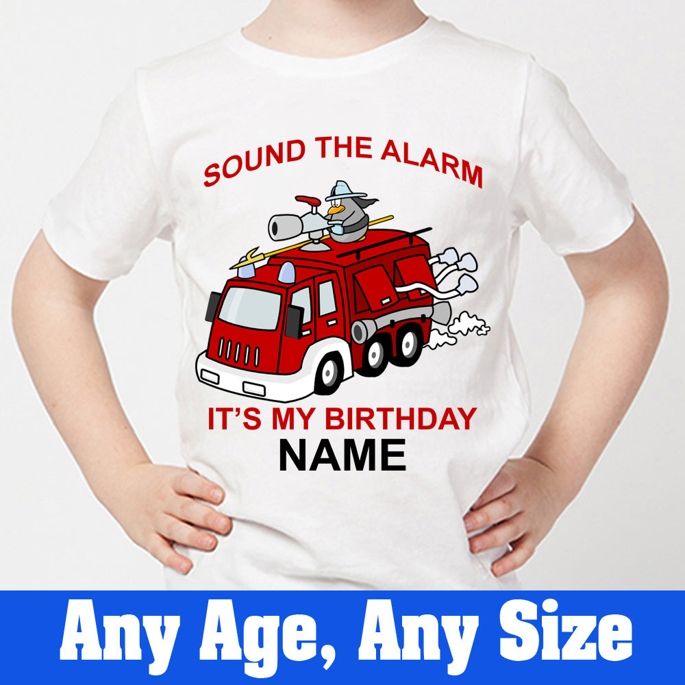 Sprinklecart Awesome Birthday Wear for Your Little Angel | Special Unique Design Vehicle Image Printed Birthday Tee