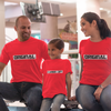 Sprinklecart Cartbon Copy Printed Family T Shirt for Father Mother and Kid