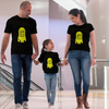 Sprinklecart One in A Minion Printed Minion Themed T Shirt | Matching Family T Shirt Set