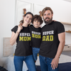 Sprinklecart Personalized Family Birthday Wear | Super Dad, Mom & Son Themed Birthday T Shirt