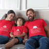 Sprinklecart We are Happy Family Printed Family T Shirt | Combo of 3 Cotton T Shirt
