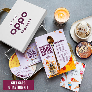 GIFT CARD + TASTING KIT GIFT BOX