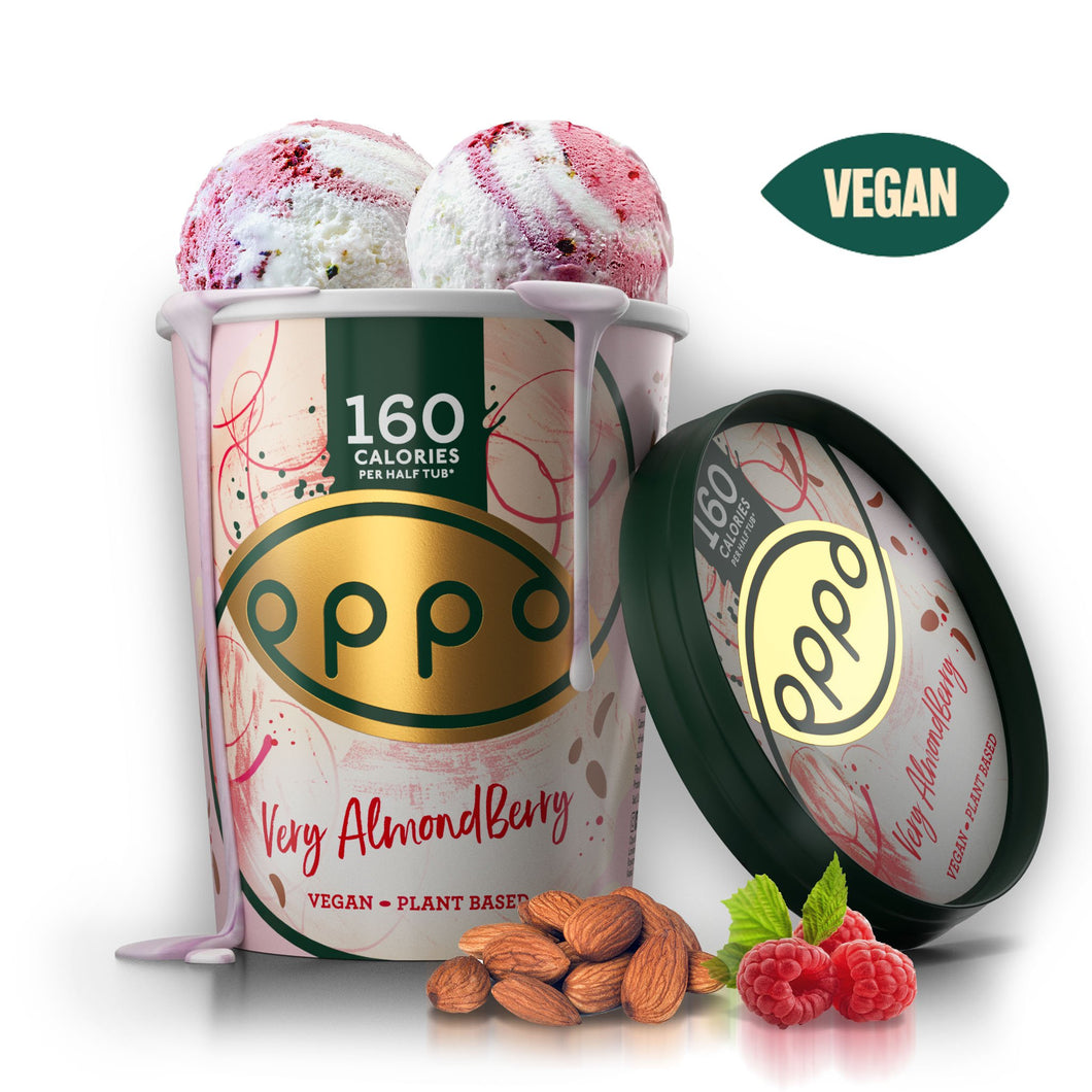 Vegan 'Very Almondberry' Ice Cream 475ml