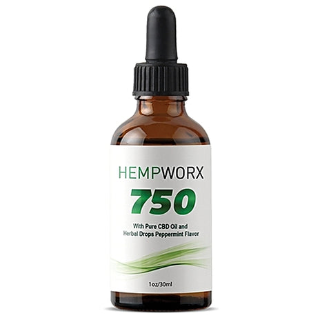 FULL SPECTRUM CBD OIL 750 MG