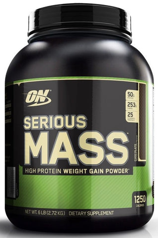 OPTIMUM NUTRITION SERIOUS MASS, 6LBS MASS GAINER