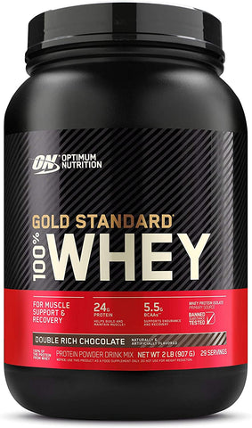 OPTIMUM NUTRITION GOLD STANDARD 100% WHEY PROTEIN POWDER, 29 SERVINGS