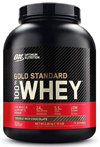 OPTIMUM NUTRITION GOLD STANDARD 100% WHEY PROTEIN POWDER, 73 SERVINGS