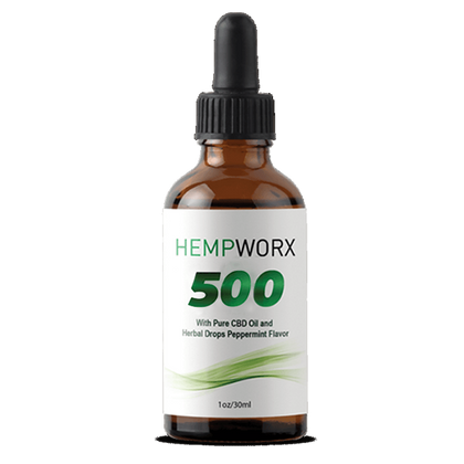 FULL SPECTRUM CBD OIL 500 MG
