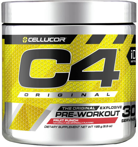 CELLUCOR C4 PRE WORKOUT POWDER, 30 SERVINGS