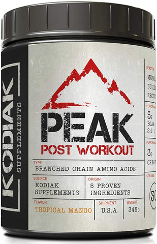 KODIAK SUPPLEMENTS, PEAK POST WORKOUT