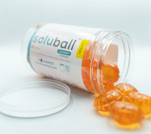 Soluball Laundry (Lemon) - Soluball Floor & Surface Capsules