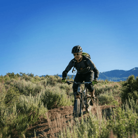 Joe Davies mountain biking