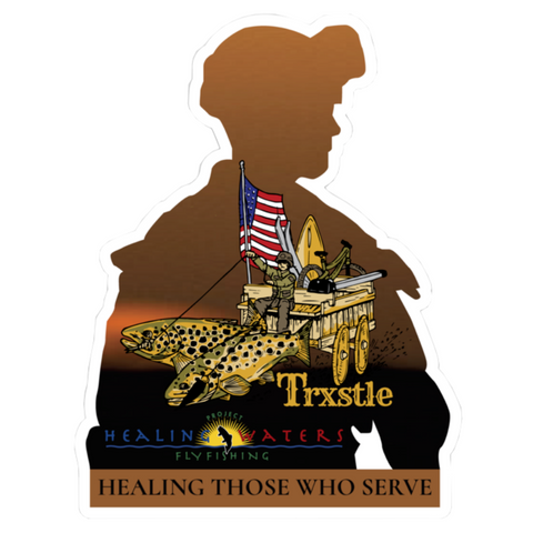 Project Healing Waters Commemorative Decal