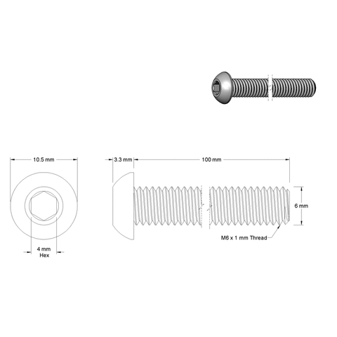 CRC Clamp Extended Length Bolts