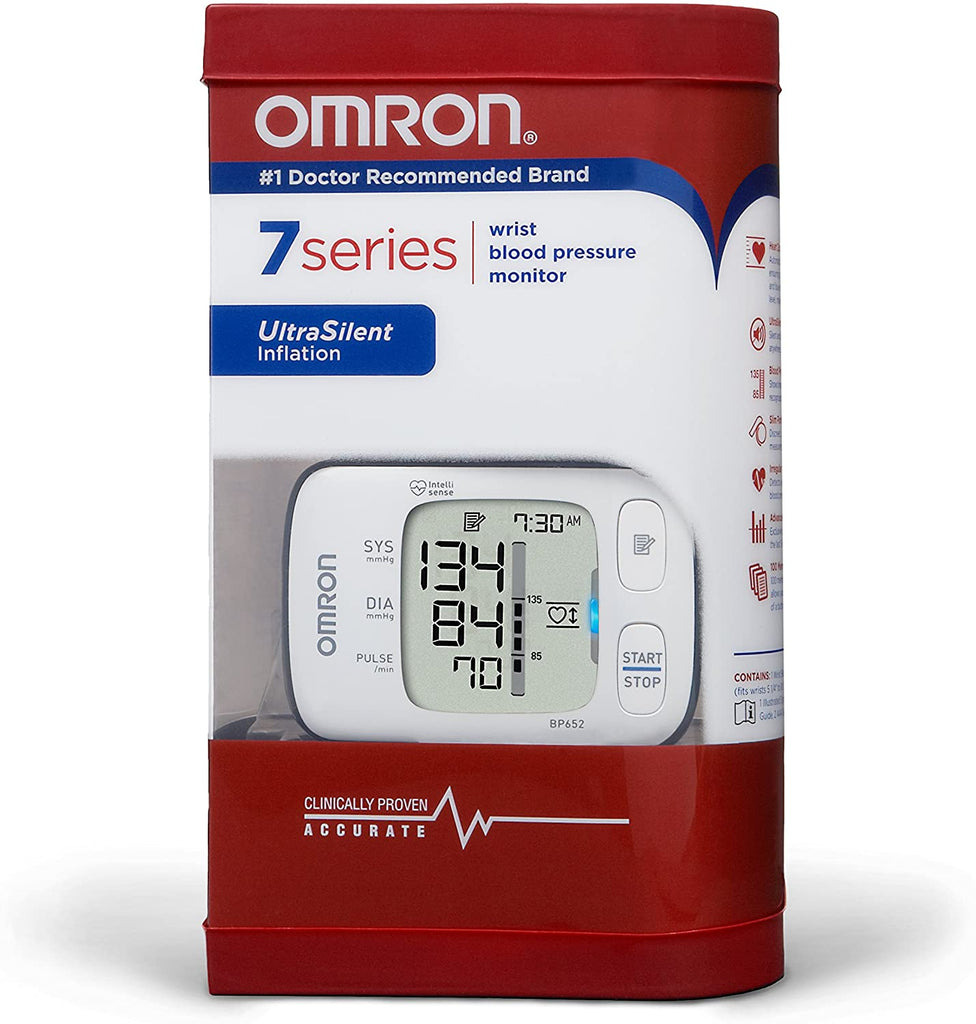 Omron 7 Series Wrist Blood Pressure Monitor BP652N | 歐姆龍7系列手腕式血壓計BP652N