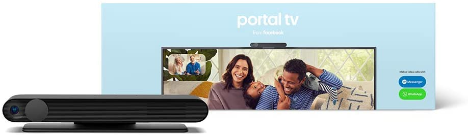 Facebook Portal TV Smart Video Calling on Your TV with Alexa Black | Facebook Portal TV智能視頻通話器