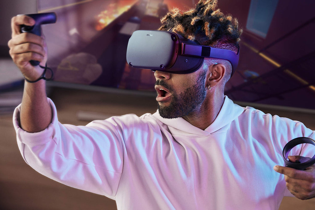 Oculus Quest All-in-one Real Reaility System | Oculus Quest 多合一虛擬實境頭戴式裝置