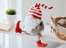 Load image into Gallery viewer, Scandinavian Gnome Christmas Crochet Pattern - Firefly Crochet