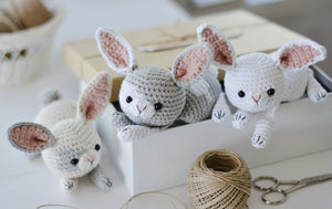 Crochet White Rabbit Pattern - Firefly Crochet