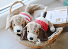 Load image into Gallery viewer, Crochet Dog Pattern, Amigurumi Puppy Dog Crochet Tutorial PDF - Firefly Crochet