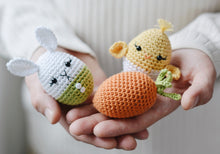Load image into Gallery viewer, Easter Eggs and Jute Basket Crochet Pattern for Beginners - Firefly Crochet