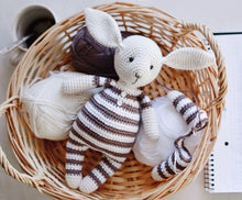 Load image into Gallery viewer, Crochet pattern rabbit toy tutorial PDF - Firefly Crochet