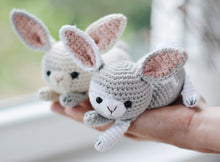 Load image into Gallery viewer, Spotted Bunny Amigurumi Crochet Pattern - Firefly Crochet