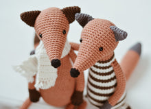 Load image into Gallery viewer, Crochet Pattern for Two Foxes, Amigurumi Fox Tutorial PDF - Firefly Crochet