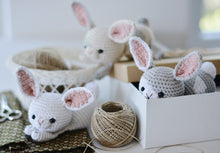 Load image into Gallery viewer, Crochet White Rabbit Pattern - Firefly Crochet