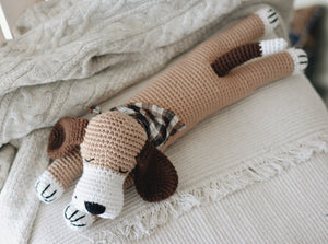 Charlie the Sleepy Dog Crochet Pattern - Firefly Crochet