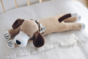 New Sleepy Dog Crochet Pattern - Firefly Crochet