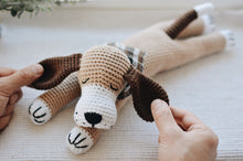 Load image into Gallery viewer, New Sleepy Dog Crochet Pattern - Firefly Crochet