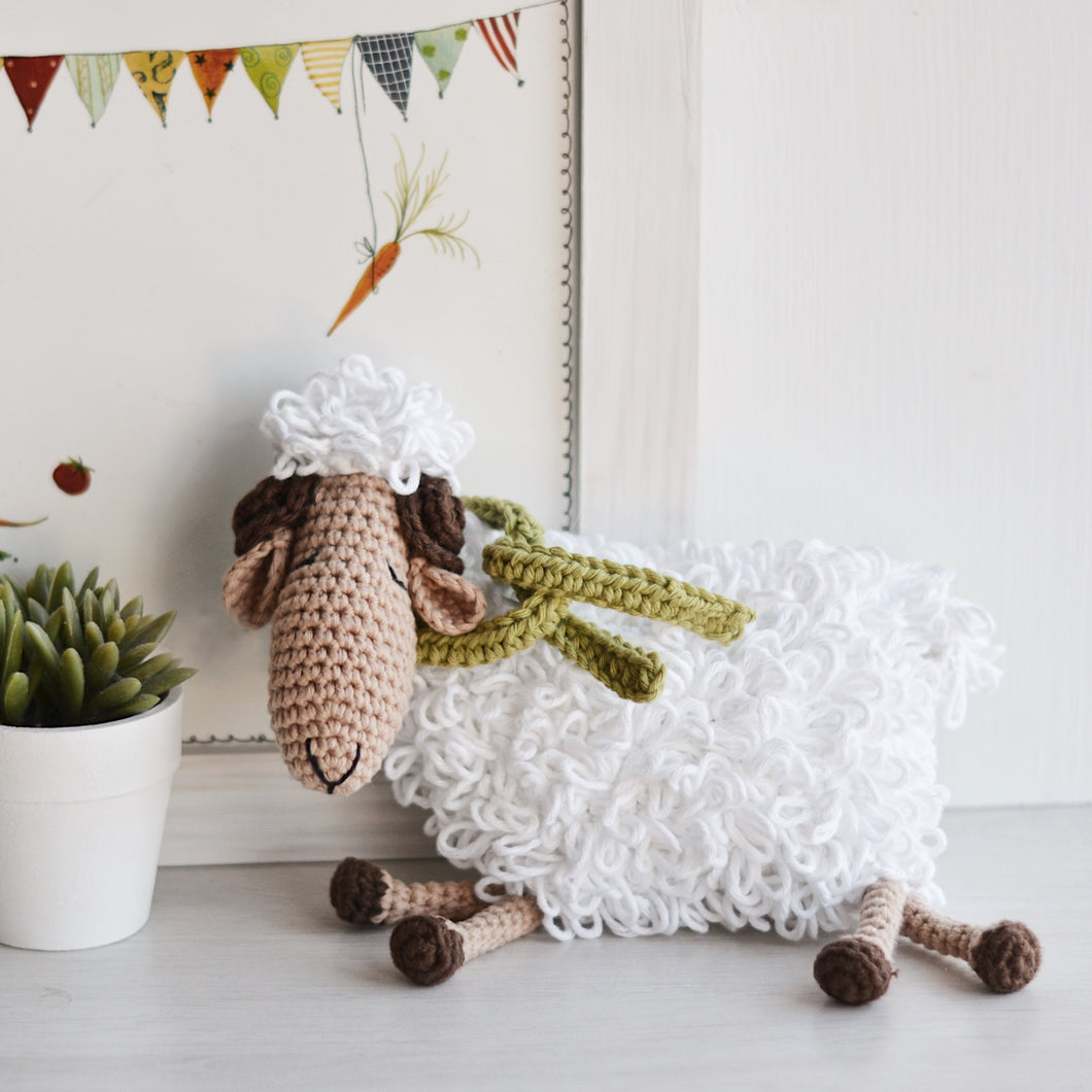 Ram Crochet Pattern, Amigurumi Sheep Tutorial PDF - Firefly Crochet