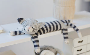 Cat Crochet Pattern Amigurumi Doll Download PDF - Firefly Crochet